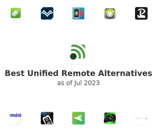 Best Unified Remote Alternatives