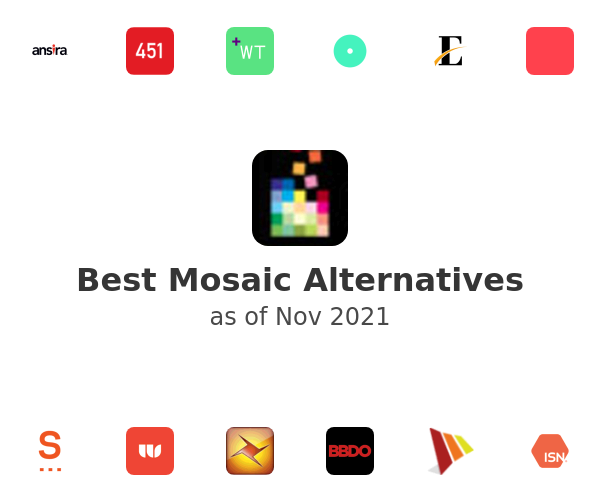 Best Mosaic Alternatives
