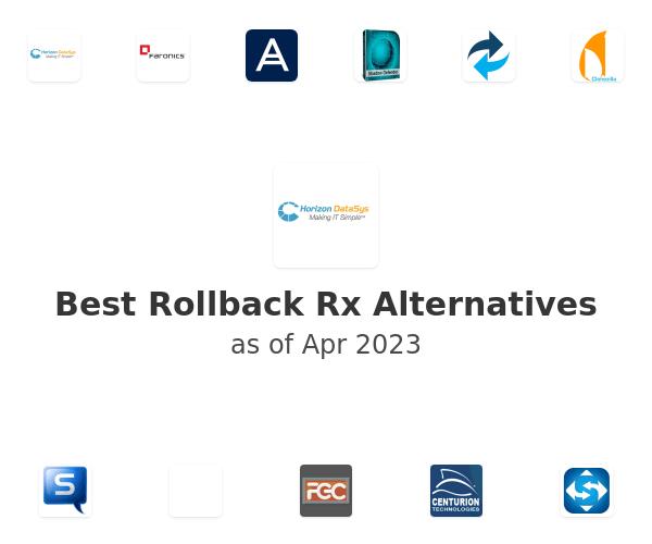 Best Rollback Rx Alternatives