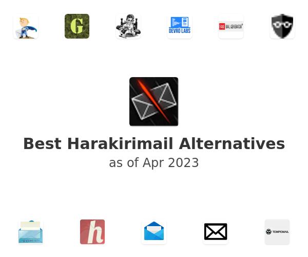 Best Harakirimail Alternatives