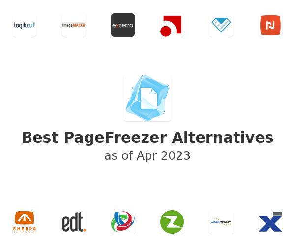 Best PageFreezer Alternatives