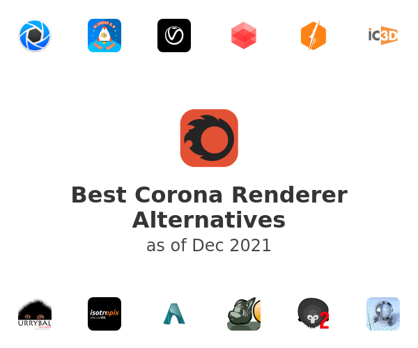 Best Corona Renderer Alternatives