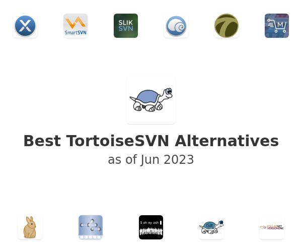 Best TortoiseSVN Alternatives