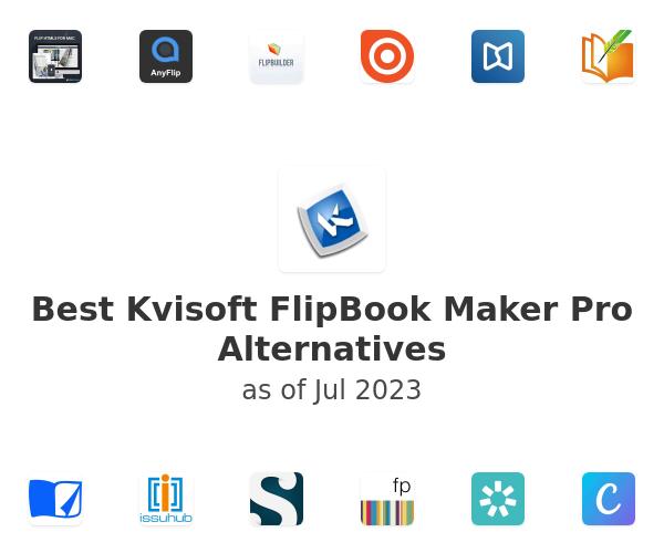 Best Kvisoft FlipBook Maker Pro Alternatives