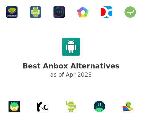 Best Anbox Alternatives