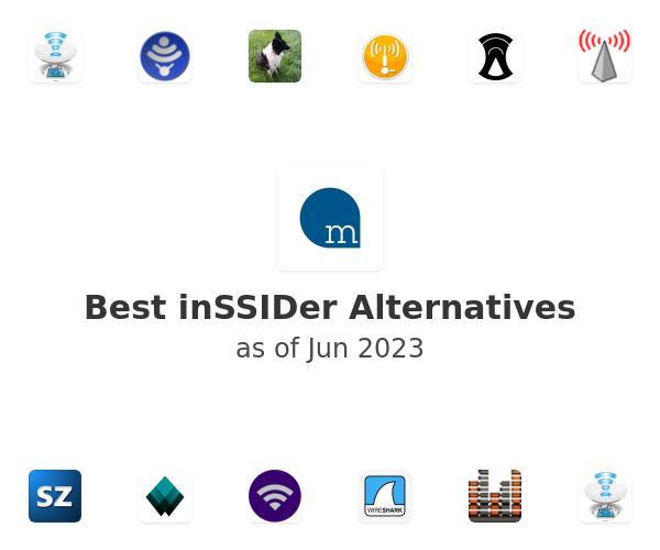 Best inSSIDer Alternatives