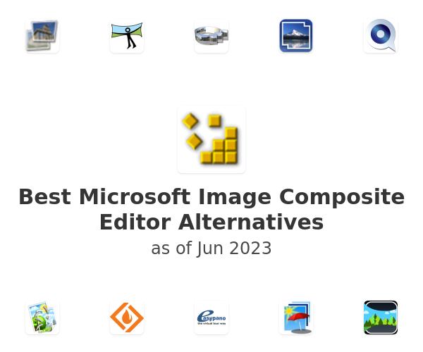Best Microsoft Image Composite Editor Alternatives