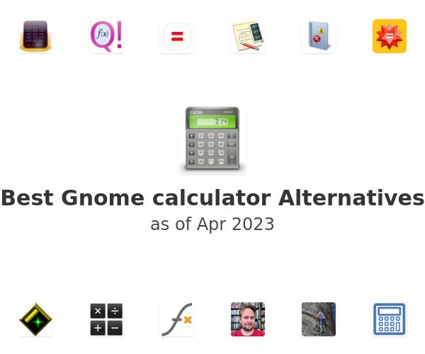 Best Gnome calculator Alternatives