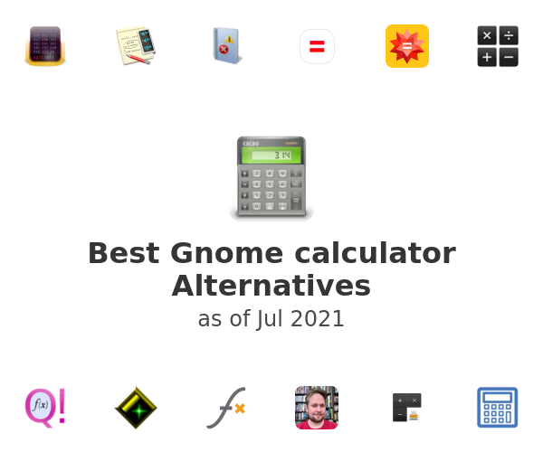 Best Gnome calculator Alternatives