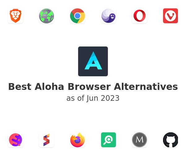 Best Aloha Browser Alternatives