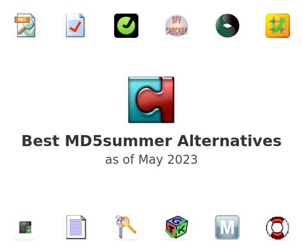 Best MD5summer Alternatives