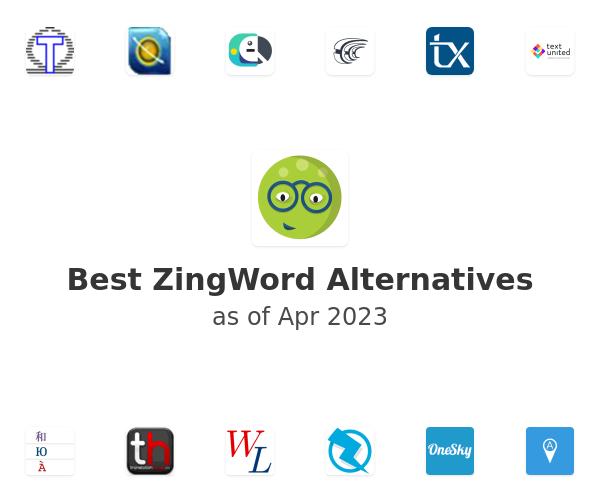 Best ZingWord Alternatives