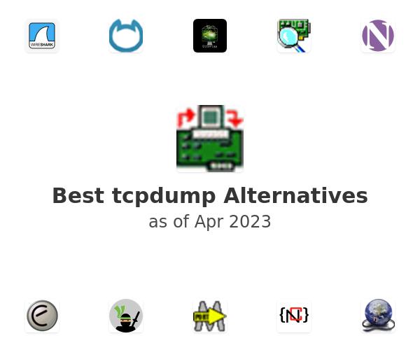 Best tcpdump Alternatives