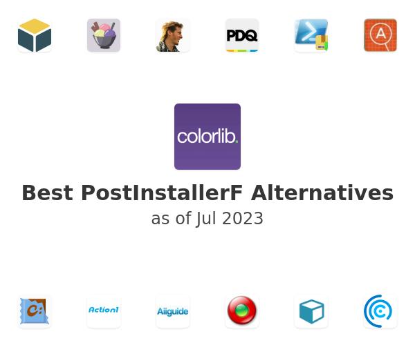 Best PostInstallerF Alternatives