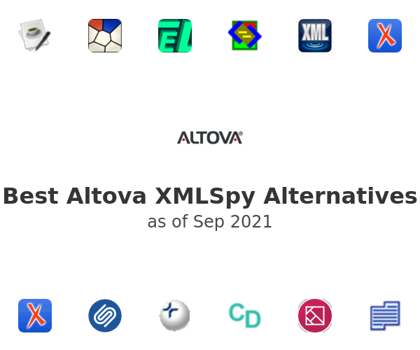 Best Altova XMLSpy Alternatives