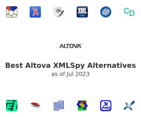 Best Altova XMLSpy Alternatives
