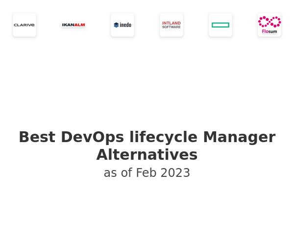 Best DevOps lifecycle Manager Alternatives