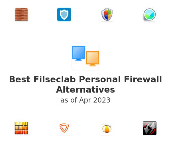 Best Filseclab Personal Firewall Alternatives