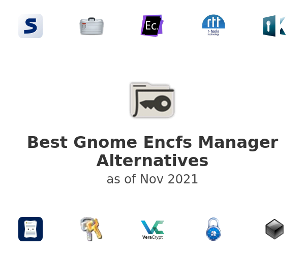 Best Gnome Encfs Manager Alternatives