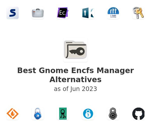 Best Gnome Encfs Manager Alternatives