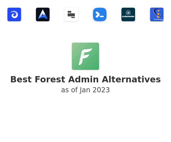 Best Forest Admin Alternatives