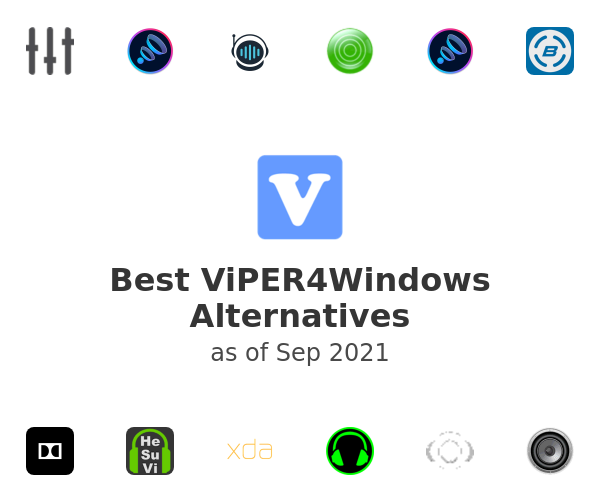 Best ViPER4Windows Alternatives