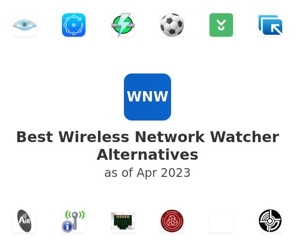 Best Wireless Network Watcher Alternatives
