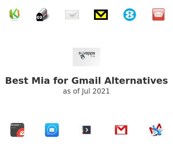 Best Mia for Gmail Alternatives