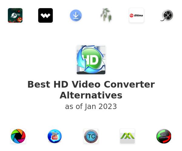 Best HD Video Converter Alternatives