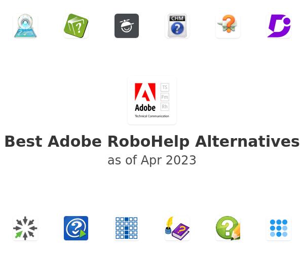 Best Adobe RoboHelp Alternatives