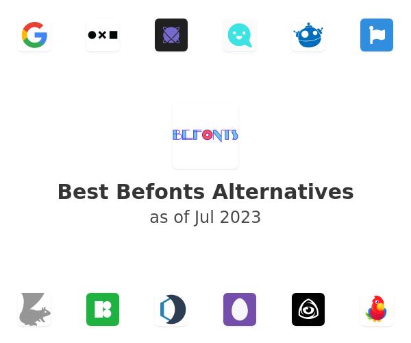 Best Befonts Alternatives