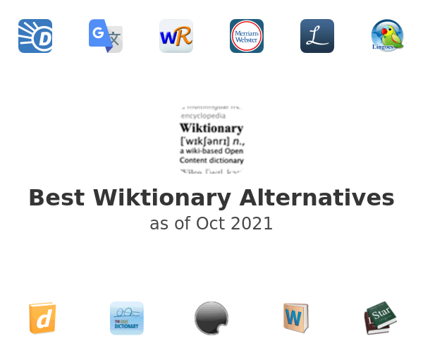 Best Wiktionary Alternatives