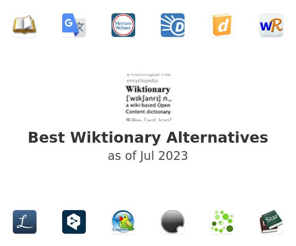 Best Wiktionary Alternatives
