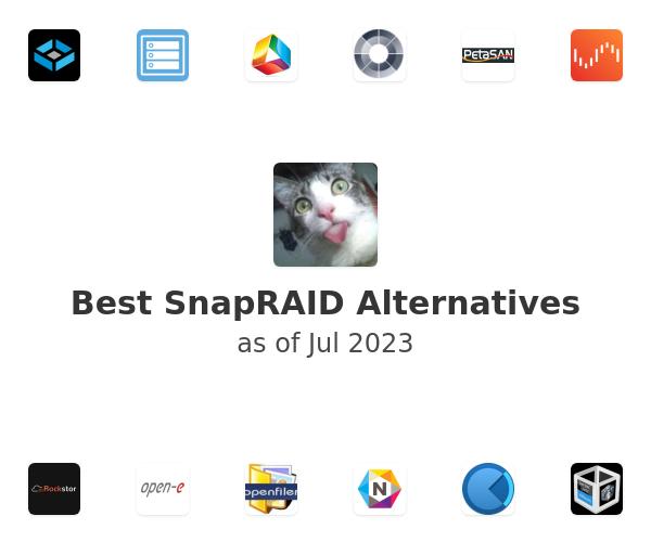 Best SnapRAID Alternatives
