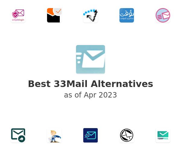 Best 33Mail Alternatives
