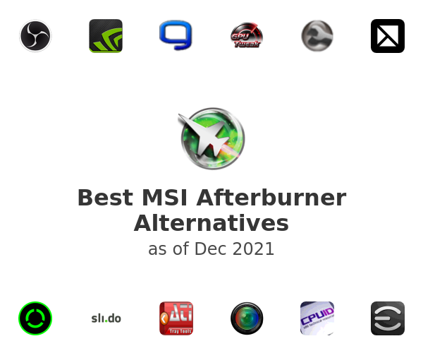 Best MSI Afterburner Alternatives