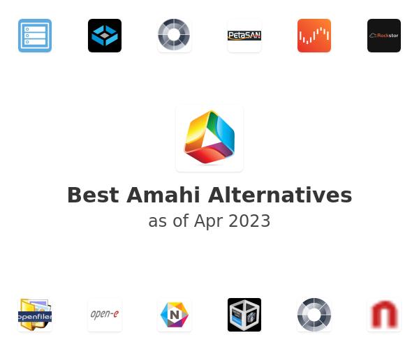 Best Amahi Home Server Alternatives