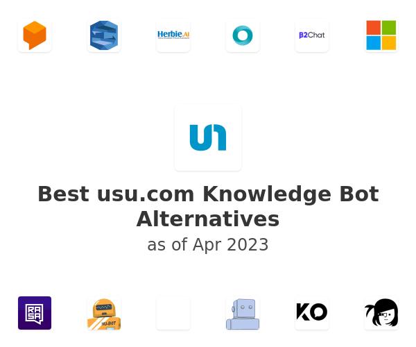 Best Knowledge Bot Alternatives