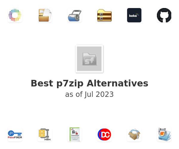 Best p7zip Alternatives