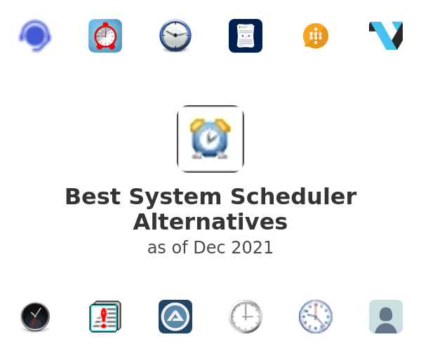 Best System Scheduler Alternatives