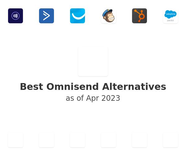 Best Omnisend Alternatives