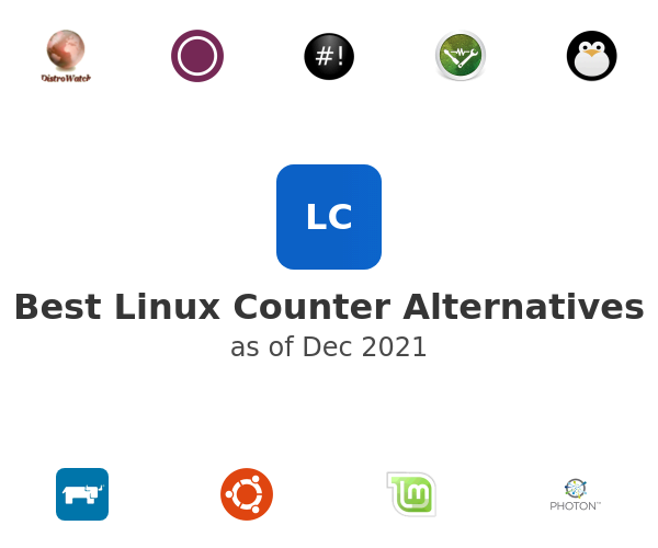 Best Linux Counter Alternatives