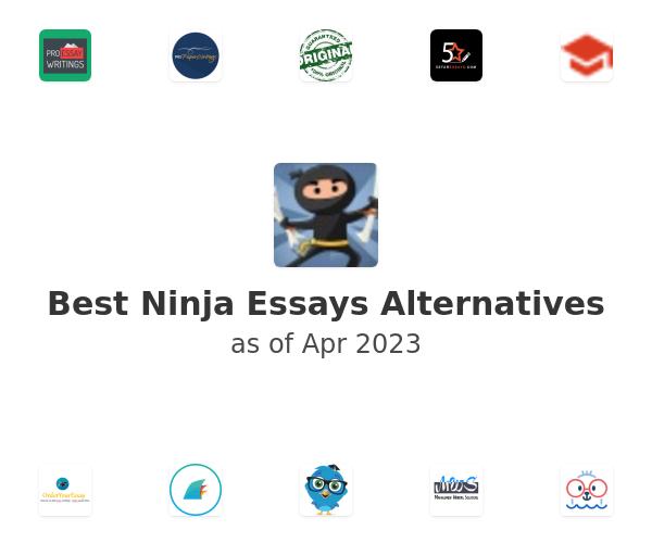 Best Ninja Essays Alternatives