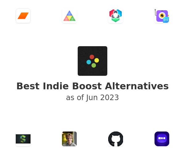Best Indie Boost Alternatives