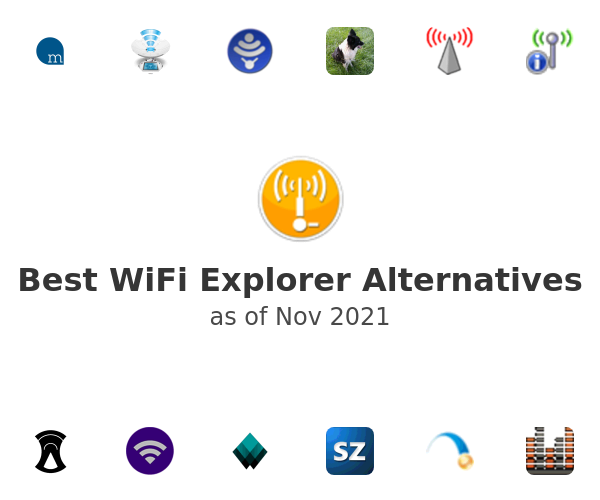 Best WiFi Explorer Alternatives