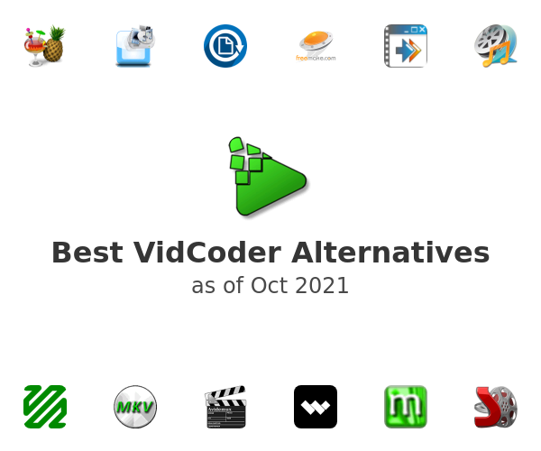 Best VidCoder Alternatives