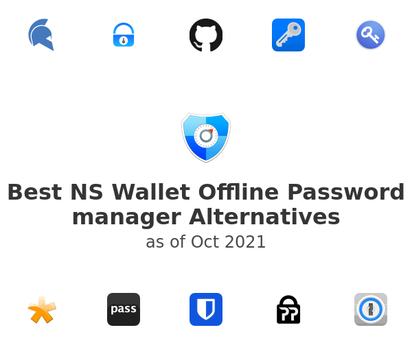 Best NS Wallet Offline Password manager Alternatives