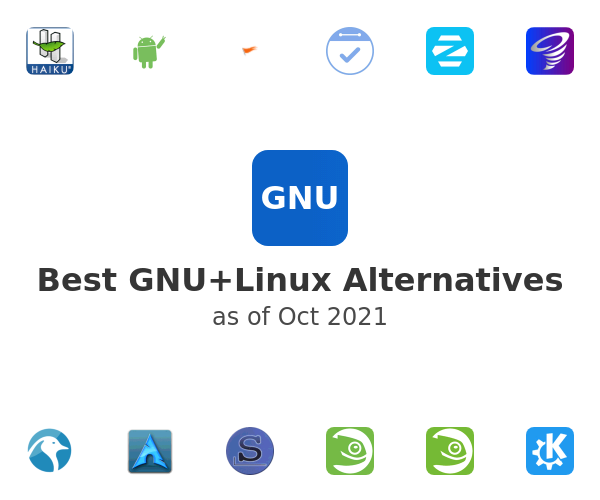 Best GNU+Linux Alternatives