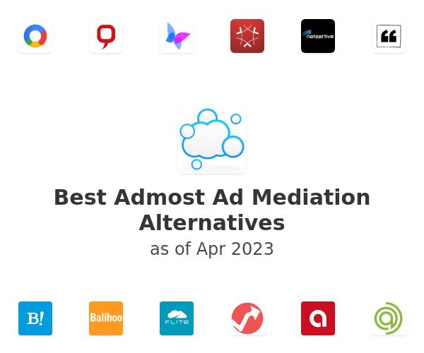 Best Admost Ad Mediation Alternatives