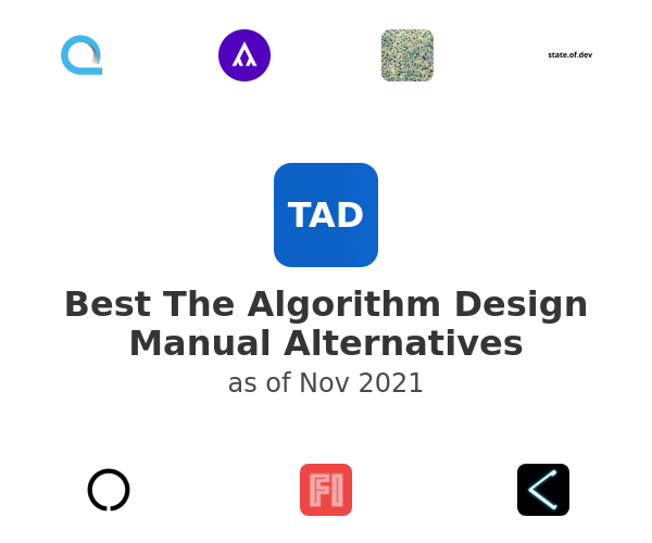 Best The Algorithm Design Manual Alternatives
